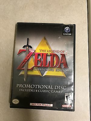 Legend of Zelda Collector's Edition (Nintendo GameCube, 2003) played once