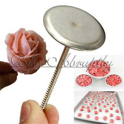 DIY Cupcake Ice Cream Cake Decorating Flower Nail Needle Baking Pastry Tools