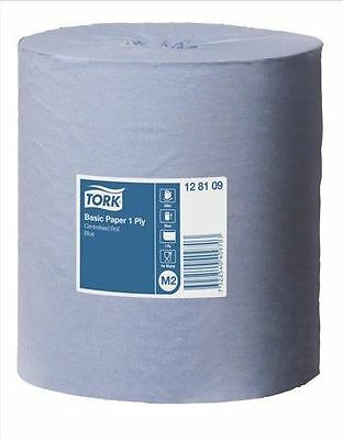 Tork Universal Centre Feed Wiper Roll 1-Ply Blue 300m