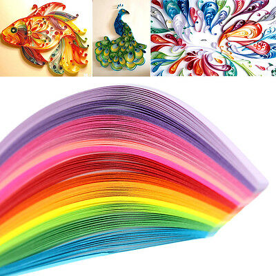 160 Stripes 22 Mix Colors Paper Quiling 3 x 390mm For DIY Paper Craft Scrapbooks