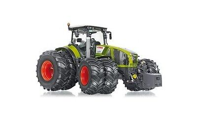 #077328 - Wiking Claas Axion 950 mit Zwillingsbereifung - 1:32