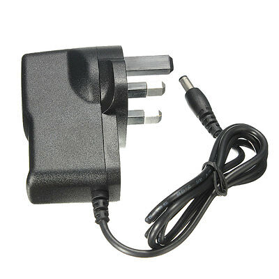 UK Plug 9V DC 1A Power Supply Adapter Connector for BOSS DOD DUNLOP Effect Pedal