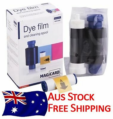 MAGICARD MA300YMCKO Ribbon 300 Prints - Genuine - Aus Stock - Free Shipping