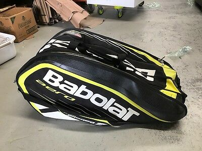 Babolat Aero Line 12 Racquets Pack Tennis Bag - As New