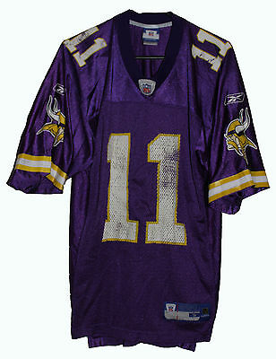 Nfl Minnesota Vikings #11 Daunte Culpepper Reebok Football Jersey Size: Small