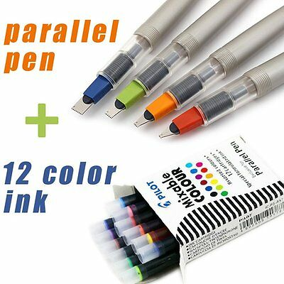 For Gothic Special Font Writing 1.5-6.0mm Nib Parallel Pen Creative Calligraphy