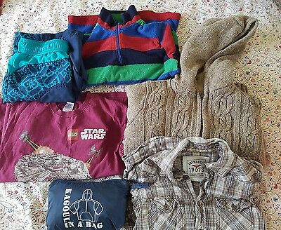 Boys Clothes Bundle 9-11 Years including Lands' End and Mountain Warehouse