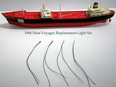 """1966 Hess Voyager Replacement Light Set Parts"" New Bulbs"