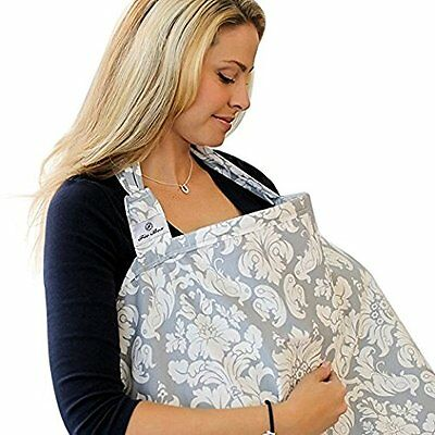 Tatami - Breast feeding Nursing Cover-Full Coverage, 100% Breathable Soft Cotton