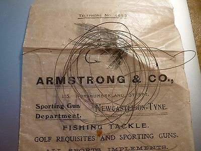 Vintage Fly Fishing Twisted Gut