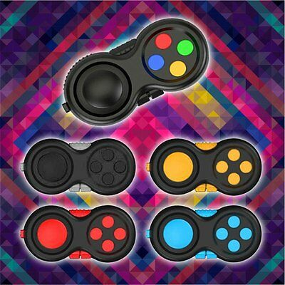 EDC Fidget Hand Shank Pad Handle For Autism ADHD Relieves Stress Focus Desk Toys