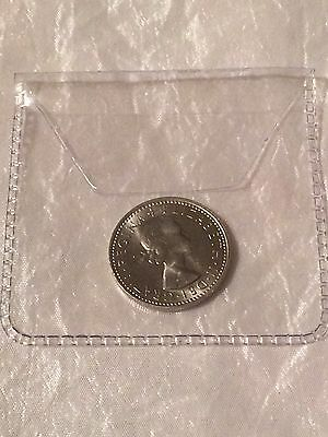 Lucky Sixpence In Clear Wallet - Choose Your Year 1953 - 1967