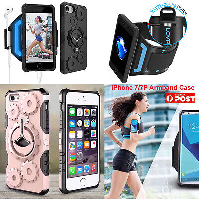 NXET Sport Armband Case Cover Set For iPhone 7/ 7 Plus Running Outdoor Jogging