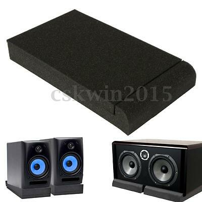Set Studio Monitor Speaker Acoustic Foam Shock-proof Isolation Pad 170mm x 300mm