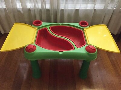 Keter Sand And Water Play Table With Lid Children's Play Table Pick Up Melb