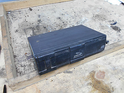 Jaguar XJ X308 CD Changer. Boot Compartment Unit. Genuine. LNF4160AA