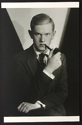 POSTCARD Modern Classics EVELYN WAUGH Portrait NEW Writer 096