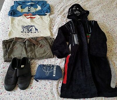 Boys Clothes Bundle 6-7 Years including M&S and Clarks Doodles