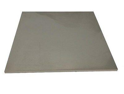 """14 Gauge Stainless Steel Plate, .075"""" x 6.5"""" x 6.5"""", 304 SS"""
