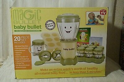 Pre owned Magic Bullet Baby Bullet Food Making System