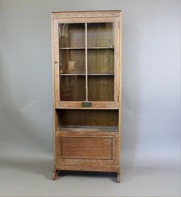 1930's limed oak bookcase probably by Heals