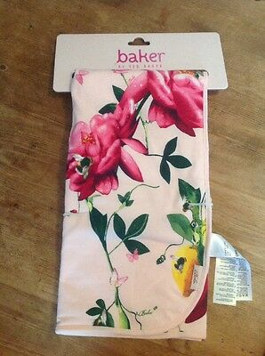 Baker By Ted Baker New Pink Floral Baby Girls Blanket Butterflies Bees BNWT