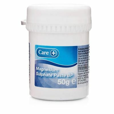 Magnesium Sulphate Paste BP 50g 1 2 3 6 Packs