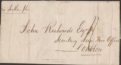 Old Letter Batavia Forward Singapoor To London  Years 1858