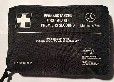 Pre-owned Never Used • Genuine Mercedes Benz First Aid Kit 2012 • A169 860 01 50
