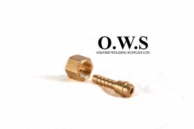 3/8 BSP RH Nut with 3/8 Tail regulators and gas gear - Oxygen / Argon / Nitrogen