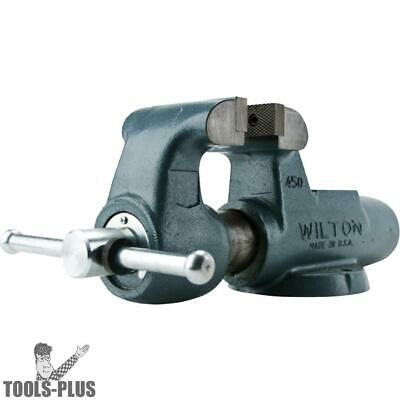 "3"" 300N Machinists' Bench Vise w/ Stationary Base Wilton 10056 New"