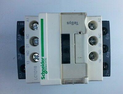New Schneider LC1D18R7C Contactor with coil  440V 50/60Hz