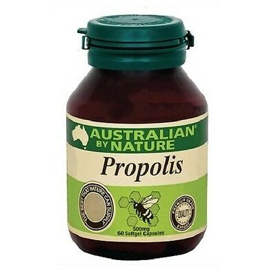 Australian by Nature Propolis 500mg 60 Capsules