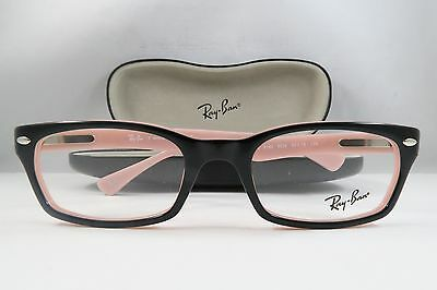 4d8b82b4694 Ray-Ban RB 5150 5024 Black Light Pink New Authentic Eyeglasses 50mm ...