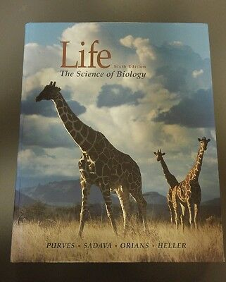 Life: The Science of Biology by W.H.Freeman & Co Ltd (Hardback, 2001)