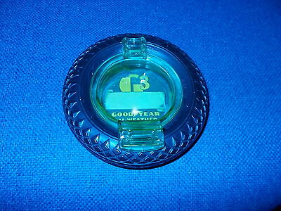 Goodyear Tire Ashtray W/paper Label