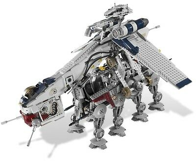 Star Wars Republic Dropship complete with AT-OT 05053 - compatible with 10195