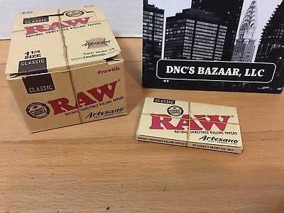 1 1/4 Classic Artesano Raw Rolling Papers