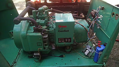 Onan Older 5000 Watt Propane Generator In Enclosure 5Cckfj