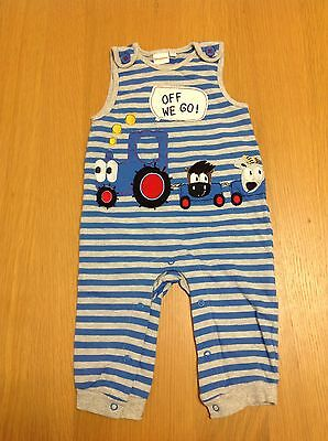 Baby Boys Dungarees From Bluezoo Size 6-9 Months