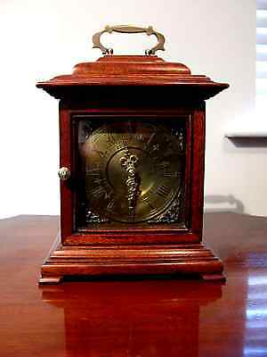 Antique Bracket clock with Railway conections