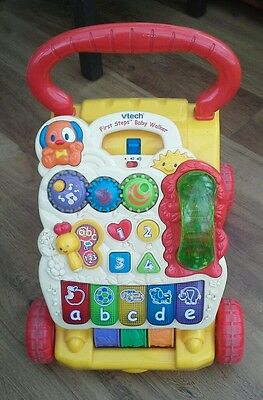 Vtech - First steps baby walker - can be posted see description