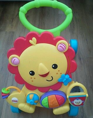 Fisher Price  - Lion baby walker - my little one LOVED this one!!