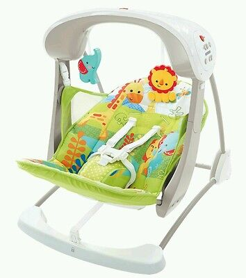 Fisher Price Rainforest Take Along Swing & Seat chair baby