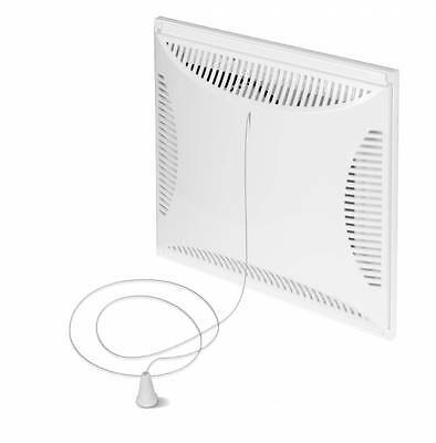 Air Vent Grille with Pull Cord Ventilation Ducting Cover Duct Tube Panel TVS