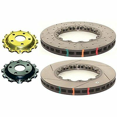 DBA (5654.1S) 5000 Series Slotted Replacement Disc Brake Rotor, Front
