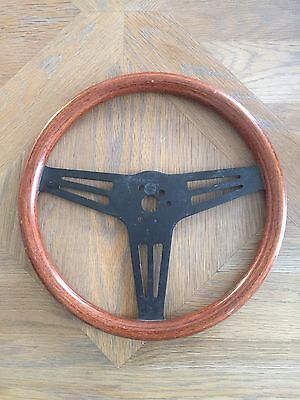 Austin Mini Cooper Les Leston Nos Wooden Steering Wheel Bmc Speedwell Lotus  Mg