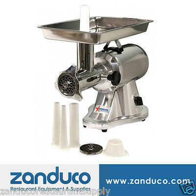 Omcan Commercial #22 Aluminum Meat Grinder with 1.5 HP MG-CN-0022-E