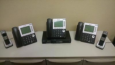 AT&T Synapse IP Office 4-Line Business Phone System w/Voicemail Auto Atten *