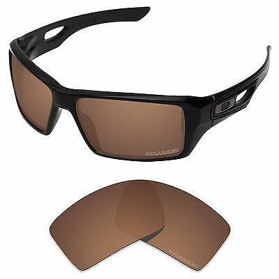 Tintart Polarized Replacement Lenses for-Oakley Eyepatch 2 Nut Brown (PFM)